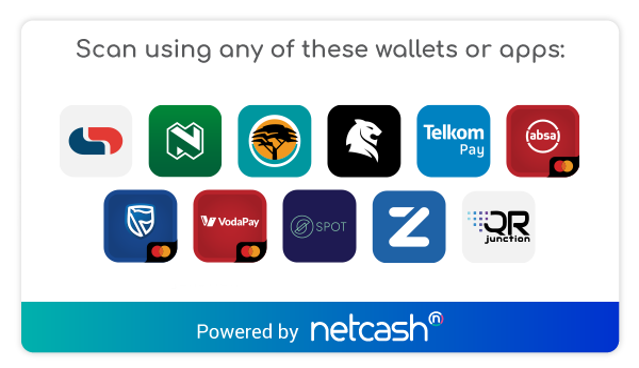 Netcash Compatible QR Apps