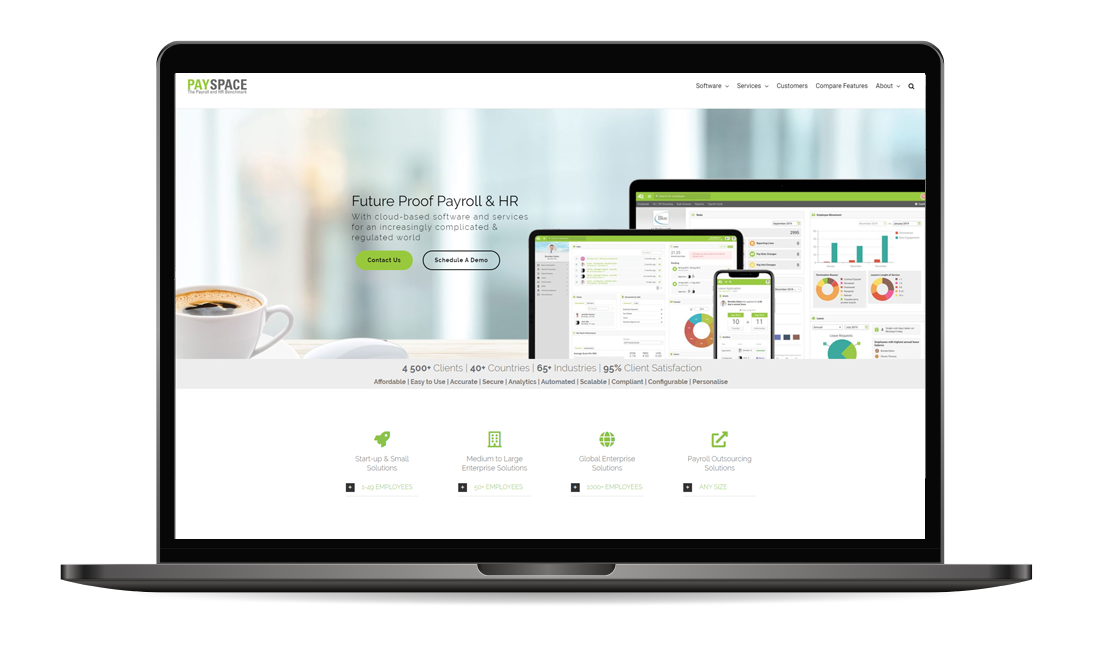Payspace payroll and hr software